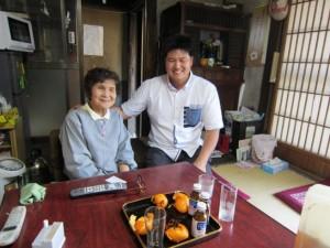 いつも笑顔の長田さんとハンさん