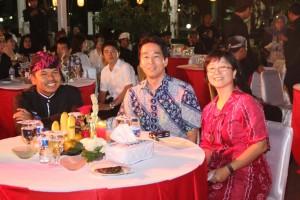 写真左から:ダディ・ムリヤディ・プルワカルタ知事、後藤亜也GPF Japan代表理事、ヨーチン・プーンGPFIF代表