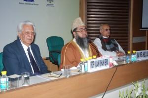 全インディア・イマム組織のウメル・イリアシ代表