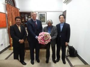 アブドゥル・カラーム元インド大統領宅の訪問
