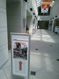イベント会場の川崎市国際交流センター