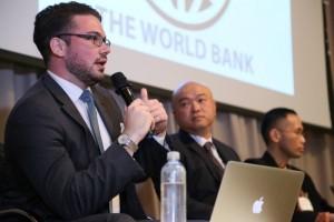 世界銀行でのフォーラム