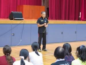 元全日本女子バレーボール監督の岩本洋氏による指導