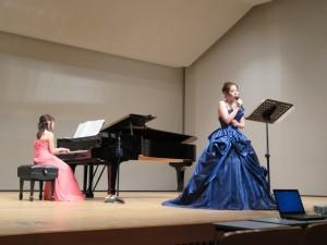 オペラ歌手二宮望実さんによるコンサート