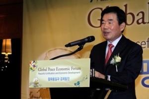 朝鮮半島統一のモデルとしてドイツ統一の例を引用するキム・ジンピョ元副総理・財政経済部元長官