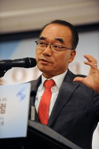 パク・ジェワン韓半島先進化財団会長
