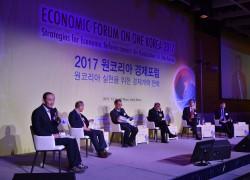 12月8日に開催されたワンコリア経済フォーラムでは、韓国、米国、日本、中国の経済専門家達が討論を繰り広げた