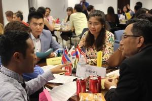 模擬六カ国協議では白熱した議論が交わされた