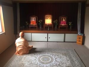 神奈川県逗子市にある日本ヴェーダーンタ協会(ラーマクリシュナ・ミッション日本支部)を訪問