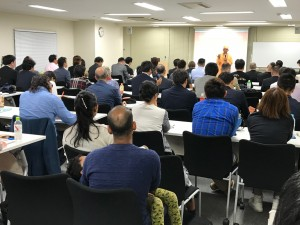 東京の講演会の様子
