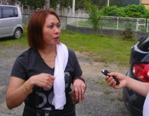 バヤニハン気仙沼フィリピノコミュニティ会長の高橋レイシェルさんをインタビュー