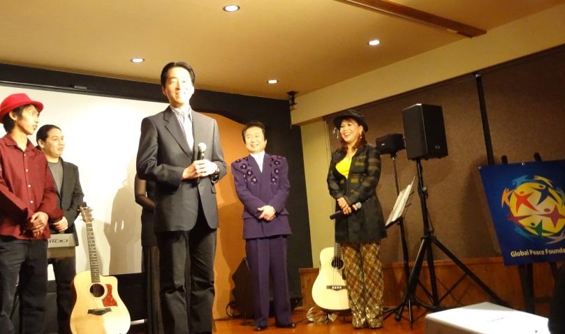 後藤亜也代表理事がGPFのフィリピンに対する支援状況を報告