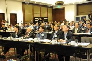 各セッションの様子 朝鮮半島の統一