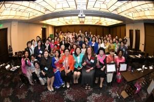 「女性のリーダーシップ文化」の参加者