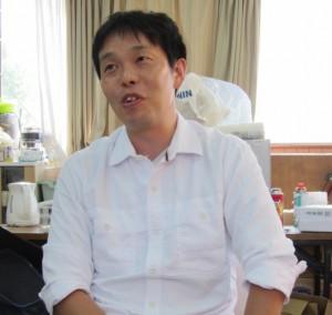 日本人が学ぶことも多いと語る早川代表