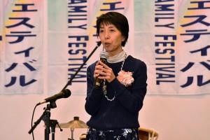 石井実行委員長による開会の辞