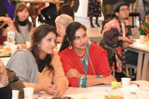 文化や国籍の違いを超えた交流で、参加者同士が楽しみました
