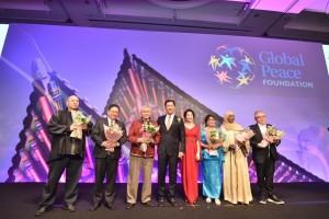 グローバル・ピース・アワードの受賞者たち