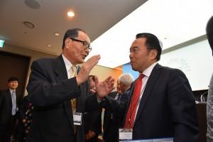 Global Peace Convention 2019 Koreaで討論するパネリストの方々