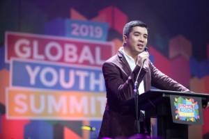 グローバル青年サミット2019で語るSMケアのロイストン・カブナグ氏