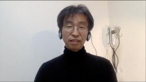 国連の持続可能な開発目標(SDGs)について語る萩原氏